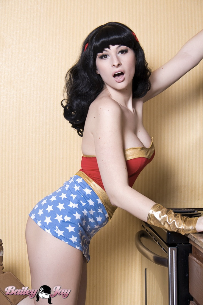 Bailey Jay as Wonder woman