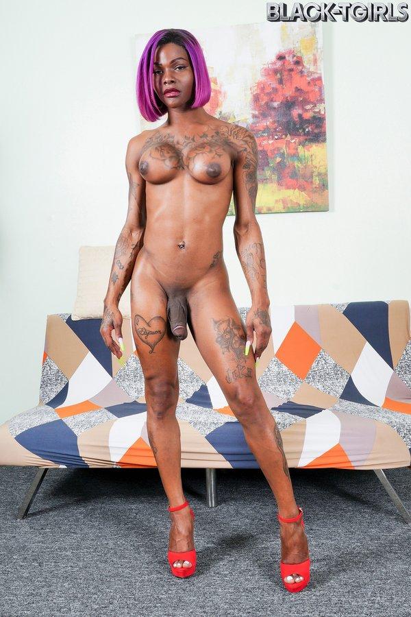 Casmia Gettens Sexy Black Tgirl